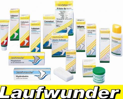 laufwunder ayak bakım ürünleri